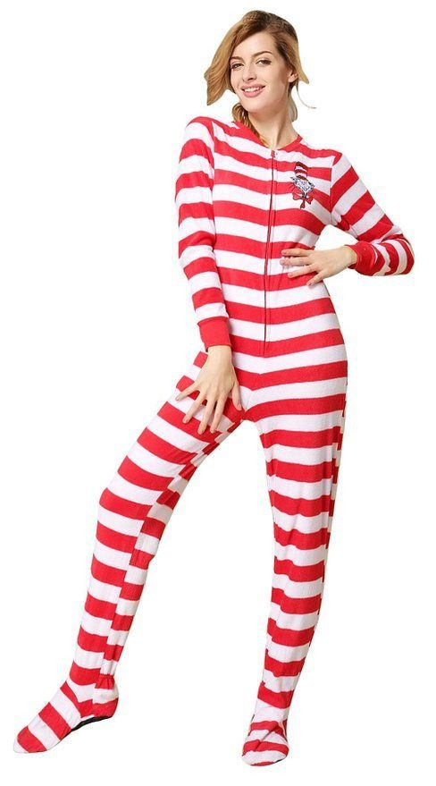 A pair of footed pajamas is the comfortable way to lounge around on a weekend morning drinking coffee and reading the newspaper. Adult footed pajamas channel days of yesteryear. A great gift for a childhood friend, a grown sibling or even for a parent, footed pajamas are no longer just for kids.