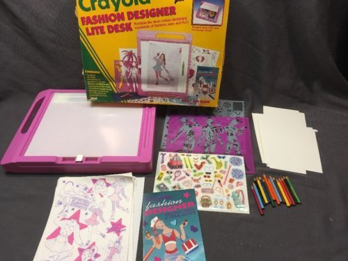 Crayola Fashion Designer Lite Desk Fashion Design Design Crayola