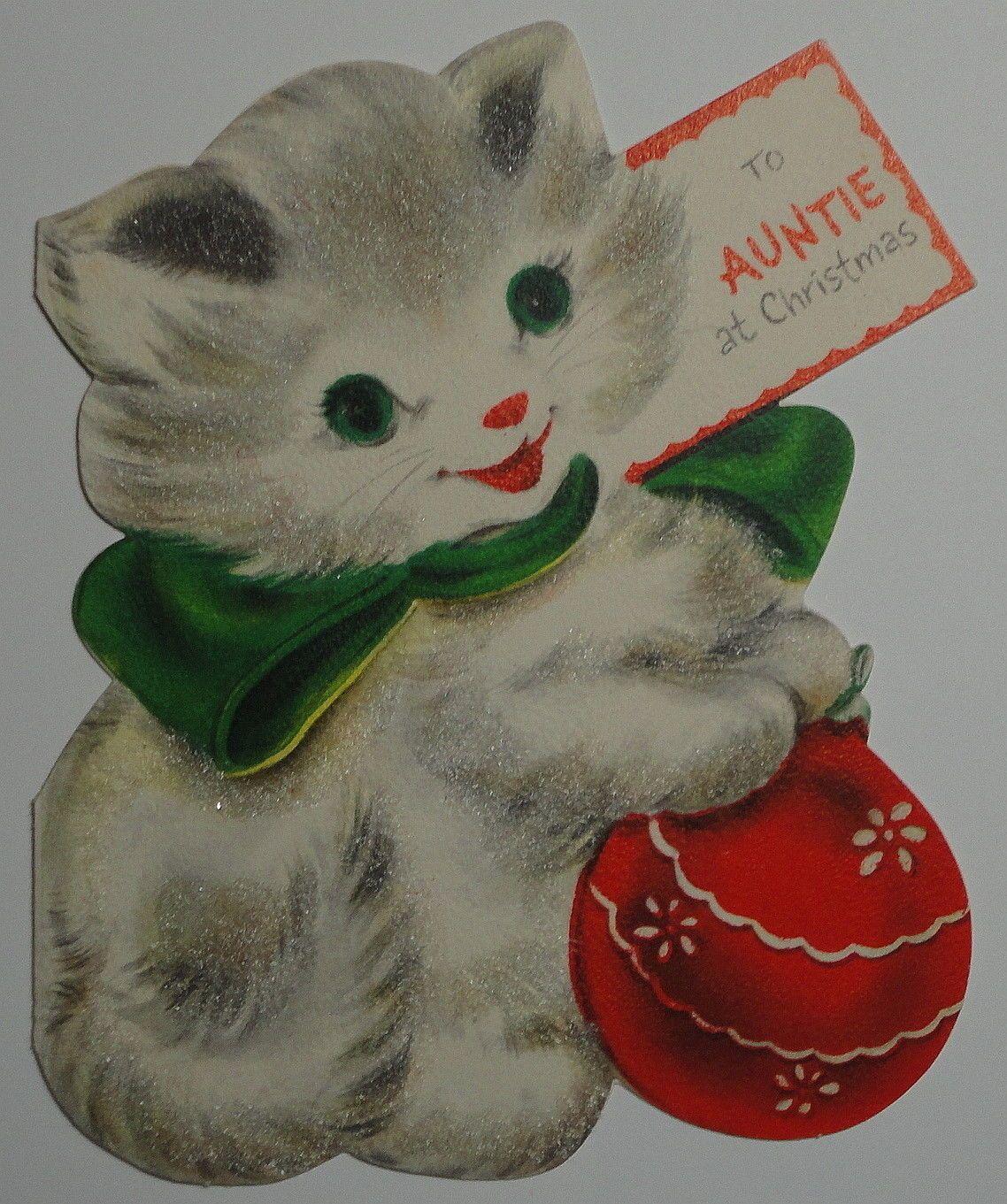 Pin On Christmas Cat