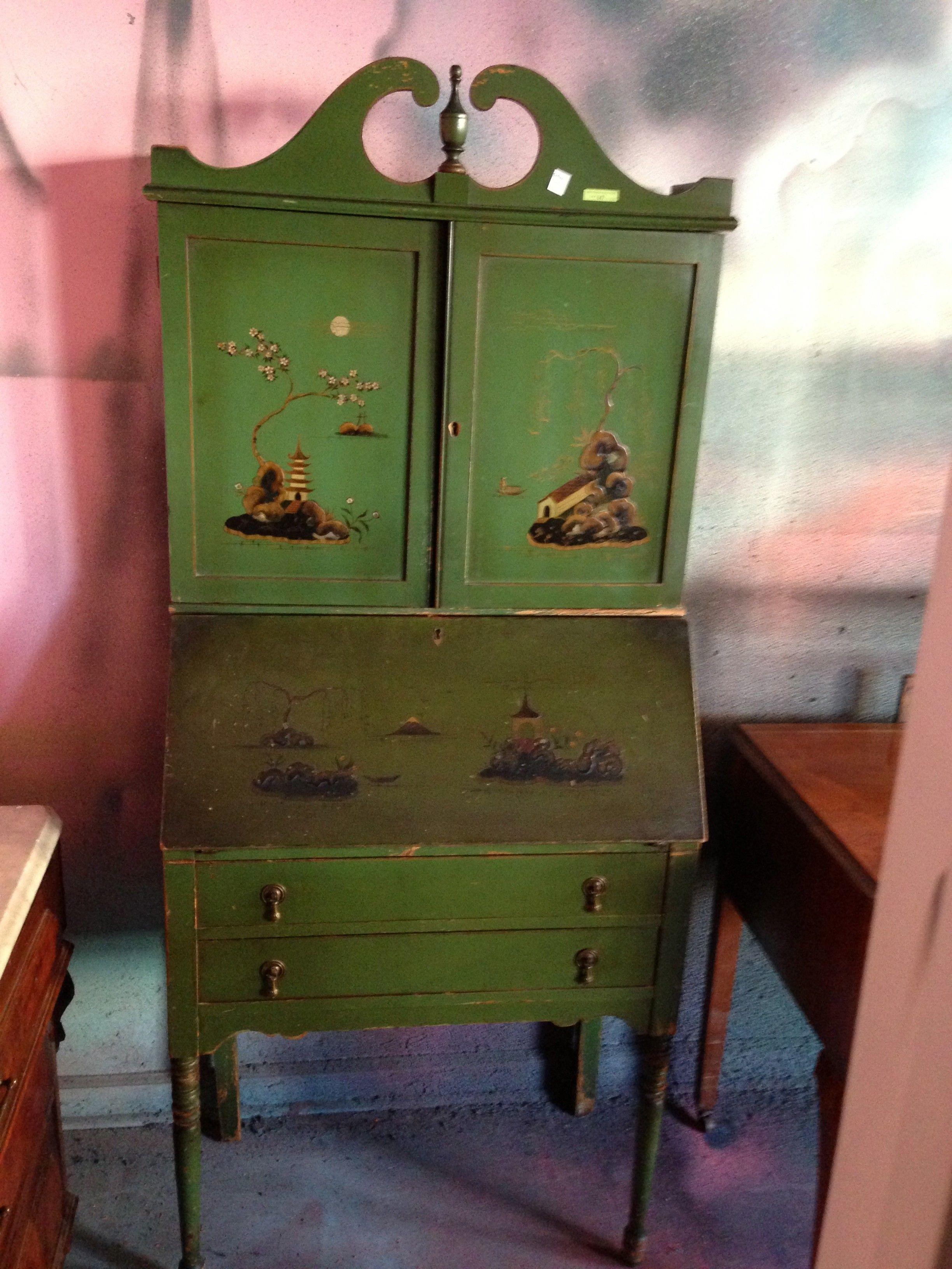 Antique Asian Secretary $175   Chicago Http://furnishly.com/catalog/