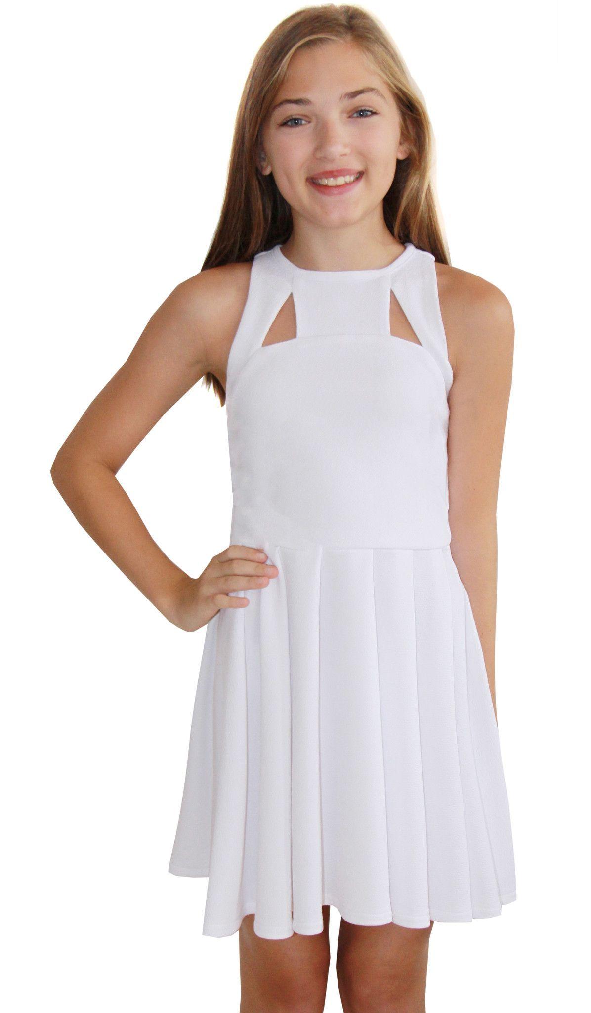 THE SUMMER DRESS -6 WHITE  Dresses for tweens, Cotillion