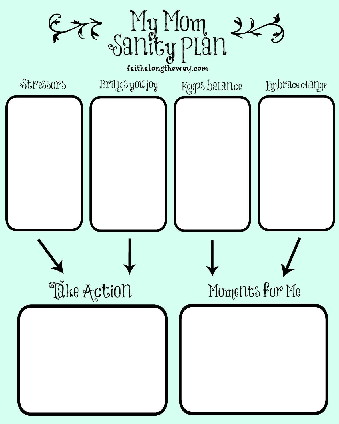 Save Yourself How I Created A Mom Sanity Plan
