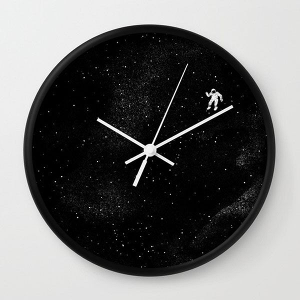 Gravity Wall Clock From Apollo Box Blue Wall Clocks Wall Clock Wall Clock Frame