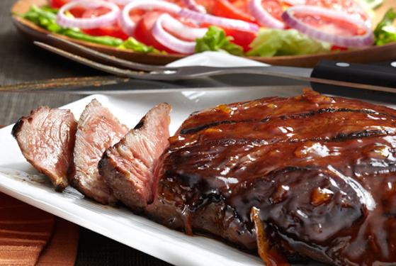 Resep Tenderloin Steak with BBQ Sauce  Resep makanan, Resep