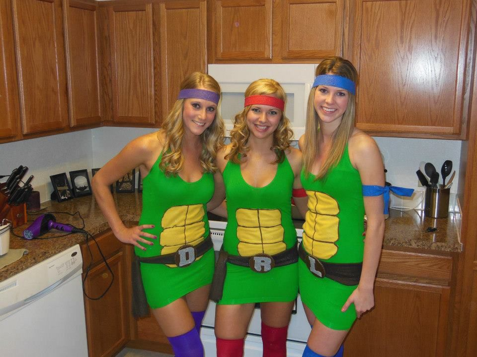 Homemade TMNT costumes Party Time! Pinterest TMNT and Costumes - halloween costume ideas for friends