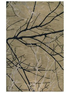 Area Rugs With Tree Patterns | Tree Branch Greenwich Hand Tufted Rug By  Bashian Rugs