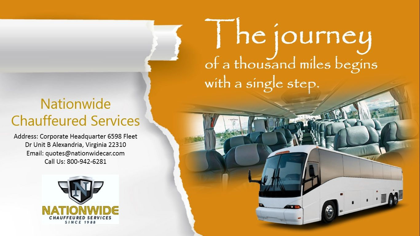 Pin by Nationwide Chauffeured Service on Charter Bus