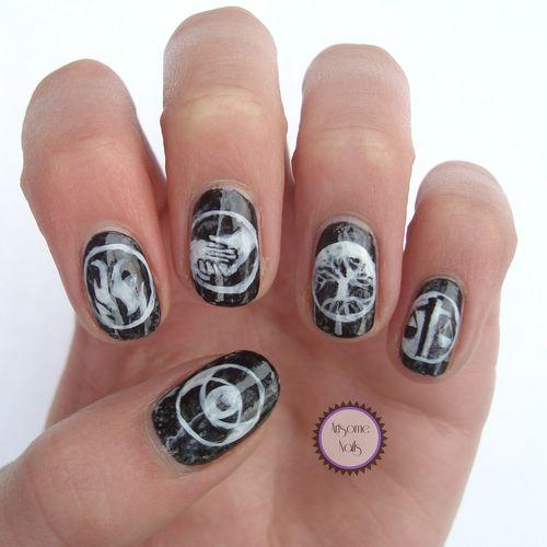 Divergent Nail Art By Artsomenails Nail Art Pinterest