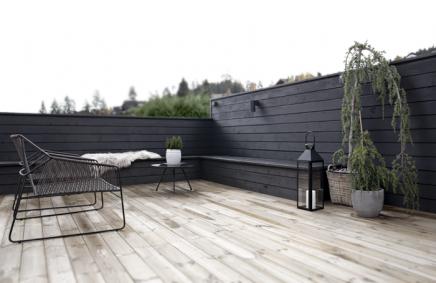 Dakterras uitbreiding en renovatie modern patio outdoor gardens