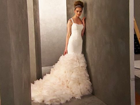 Kim Kardashians Wedding Reception Dress My Wedding Ideas