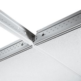 Pin By Laura Harlow On Basement Ceiling Grid Armstrong Ceiling Galvanized Steel