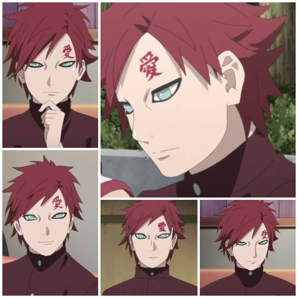 This Could Have Been Old Gaara Too But Nooooo Had To Slick