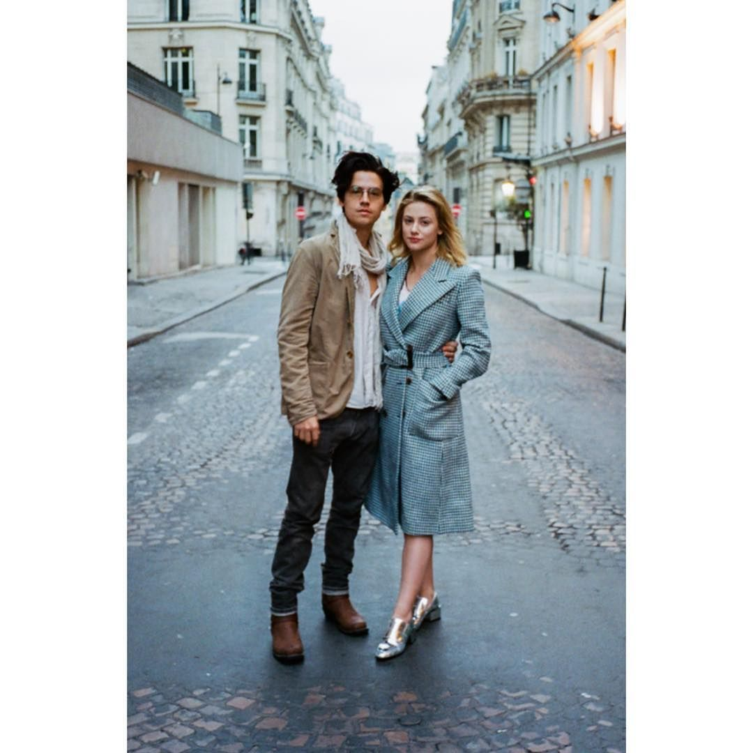 Lili Reinhart and Cole Sprouse Had the Chicest Date in Paris