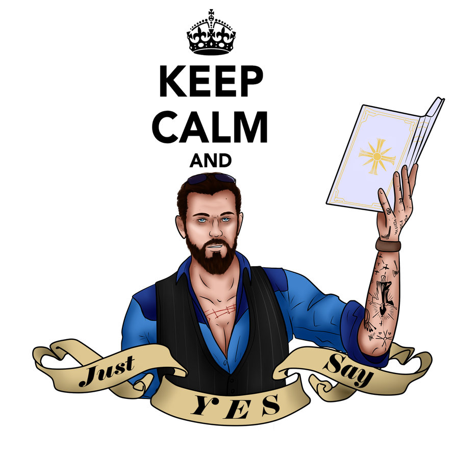Just Say Yes By Scalesxofxjustice Far Cry 5 Crying Deviantart