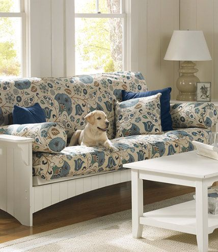 Painted Cottage Futon Slipcover Slipcovers Free Shipping At L Bean Need This To Refresh The In Loft