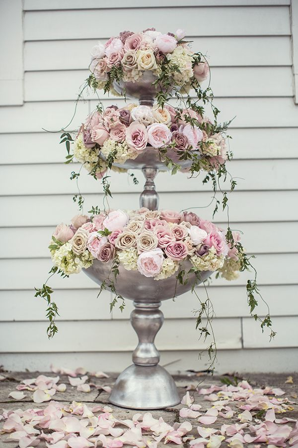 Wedding Inspiration in Pastel and Gold Romantic