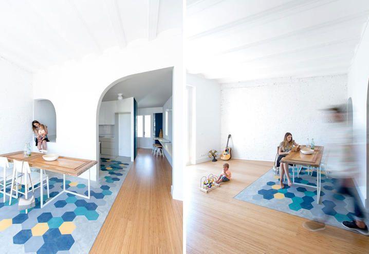 restyling-barcelona-refurbished-apartment-living-dining-room