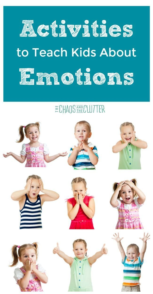 Activities to Teach Kids About Emotions | Emotions ...