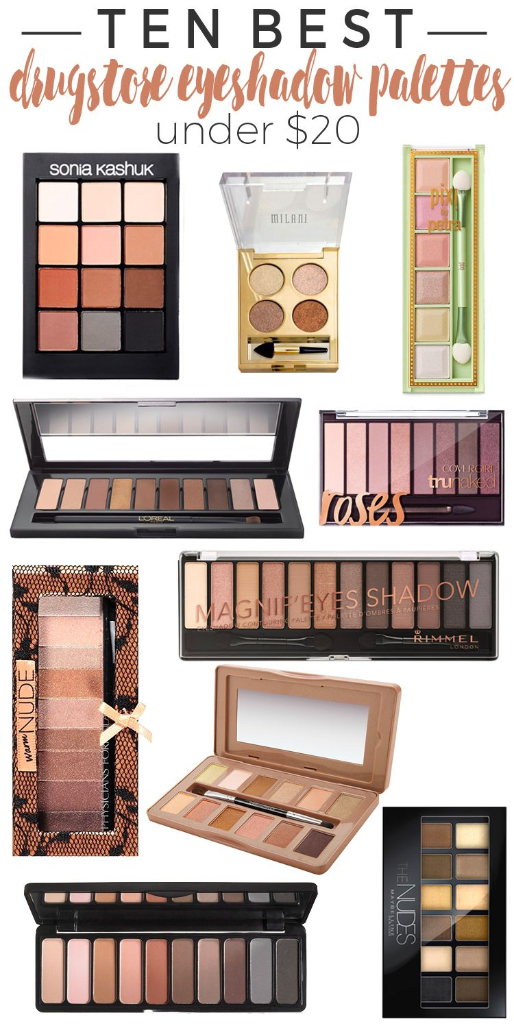 Top 10 Favorite Eyeshadow Palettes Beautiful Makeup Search Best Drugstore Eyeshadow Drugstore Eyeshadow Palette Best Eyeshadow