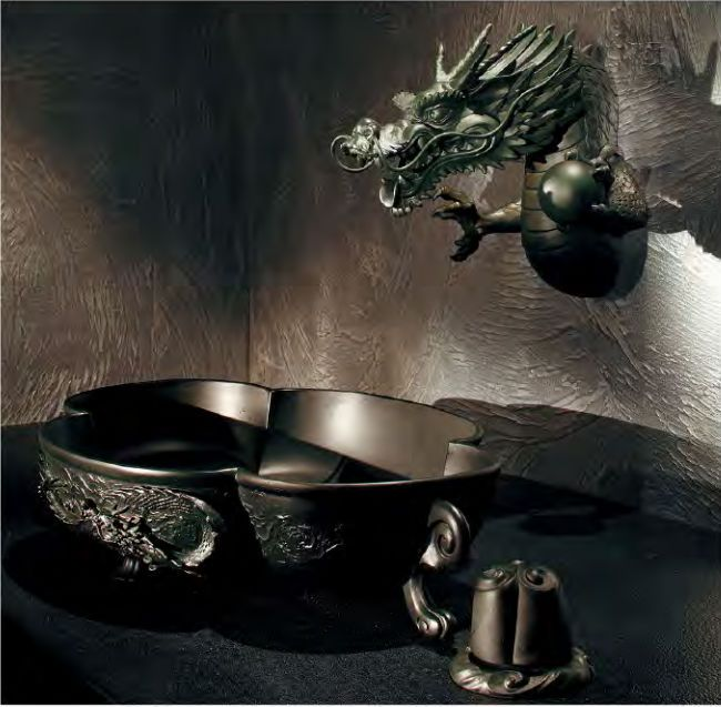 Basin And Faucet Manufacturer Kakudai.dragon Head Faucet ...