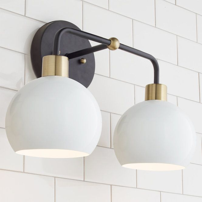 rustic bathroom light fixtures galvanized pipe light check out young house love bubble vanity light from shades of rustic in 2018 hp lighting