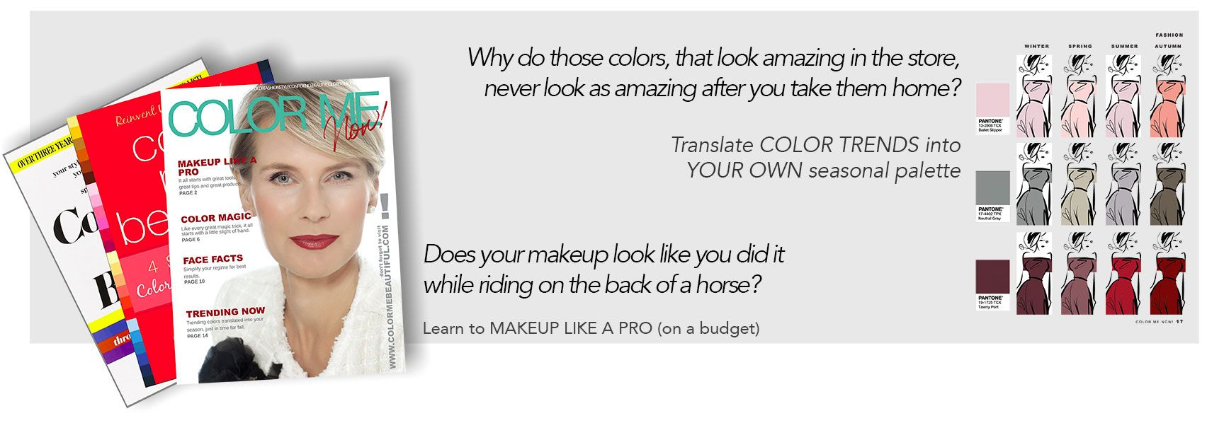 Enjoy The Latest Color Me Beautiful Book - FREE! | Color Me ...
