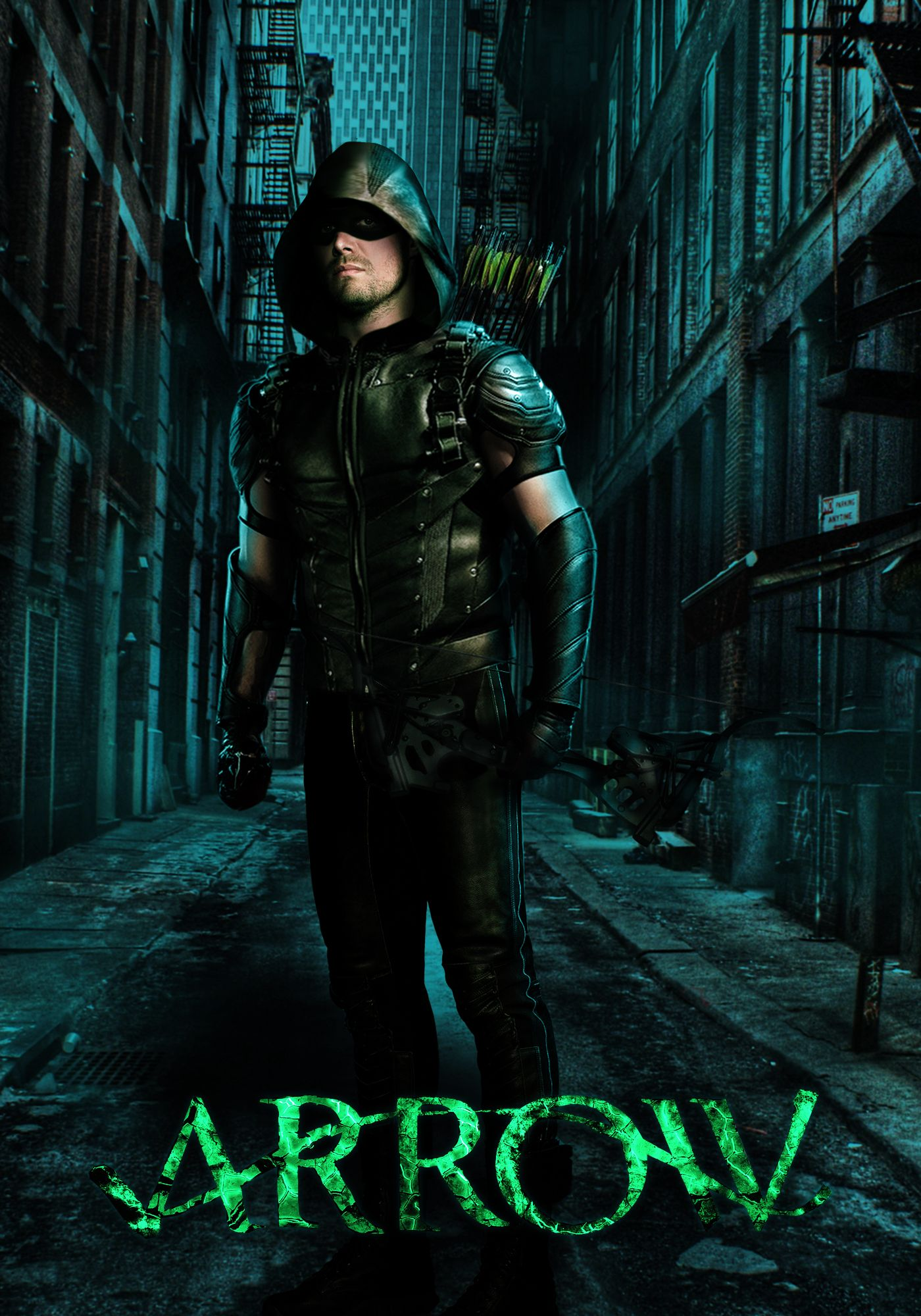 Arrow Season 5 Poster Oliver Queen The Green Arrow Com Imagens