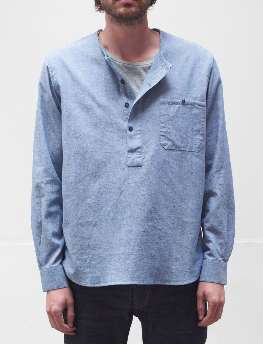 Men's Light Weight 100% Cotton Hippie Shirt | options for menswear ...