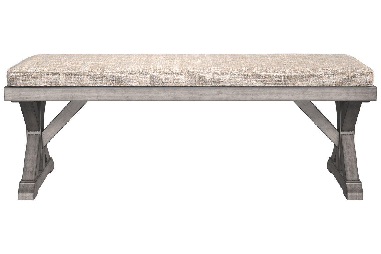 Beachcroft bench with cushion ashley furniture homestore
