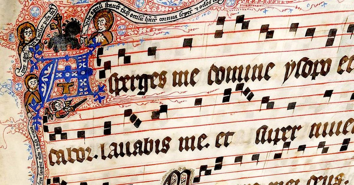 The Gregorian Chant Generator by MyNoise net have us all