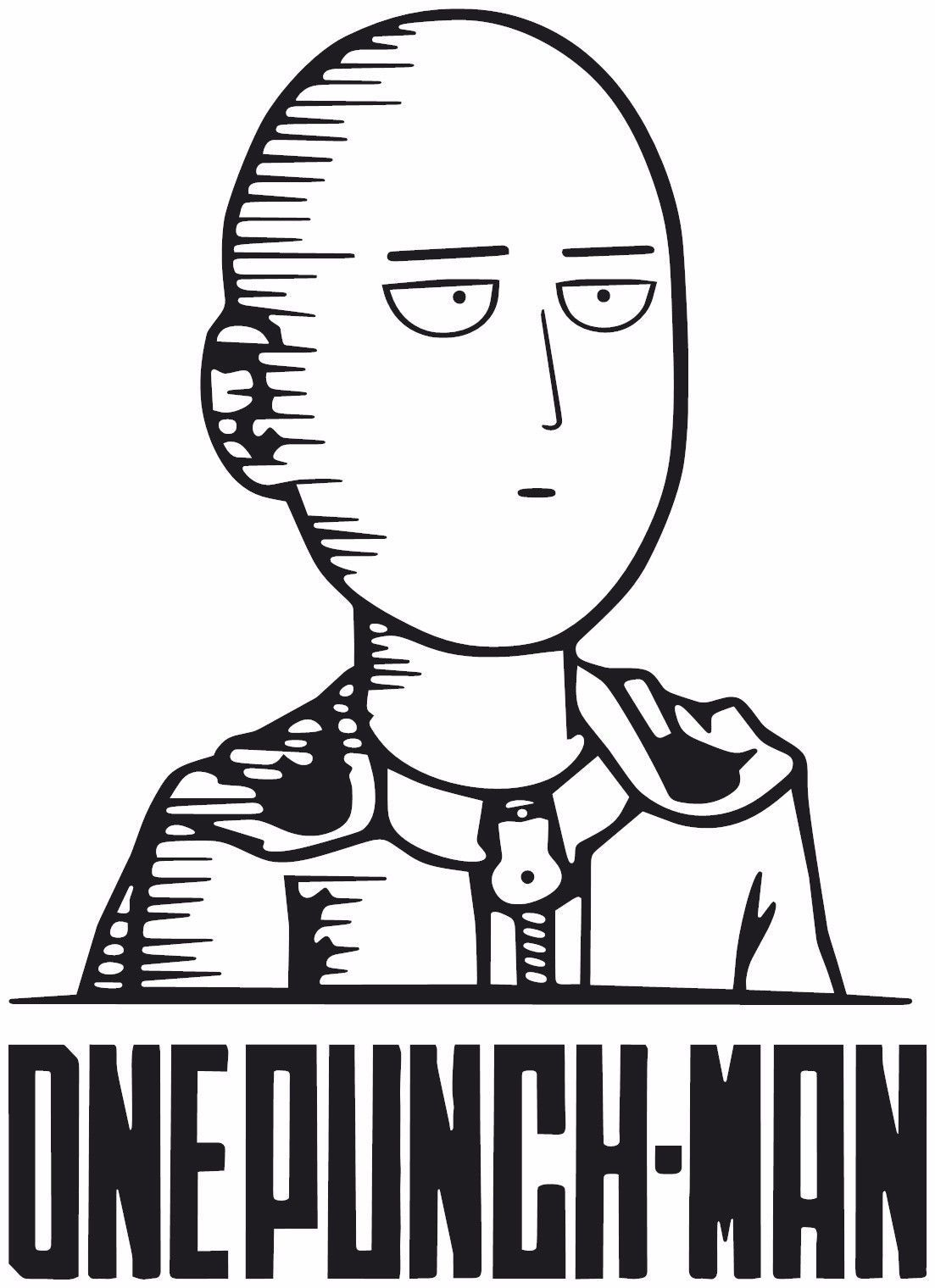 One Punch Man Saitama Anime Decal Sticker For Car Truck Laptop Ebay One Punch Man Anime One Punch Man One Punch Man Manga
