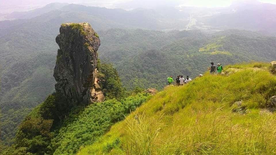 Our first climb