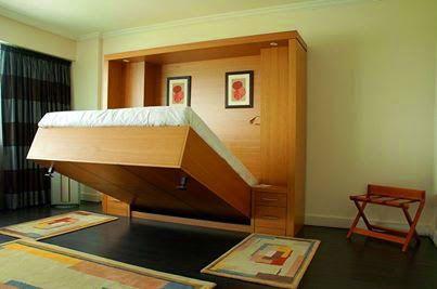 giường gấp âm tường