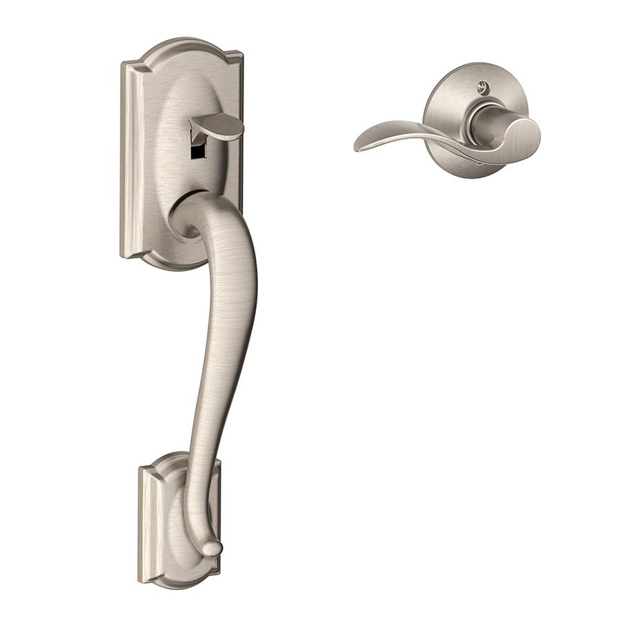 Schlage FE285-CAM-ACC-CAM-LH Camelot Lower Handle Set for Electronic Keypad with