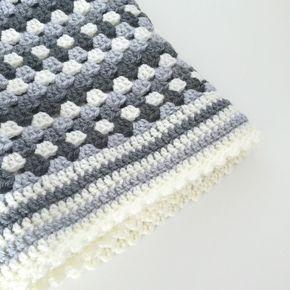 Studio 92 Designs Granny Square Babydeken Haken Crochet Deken