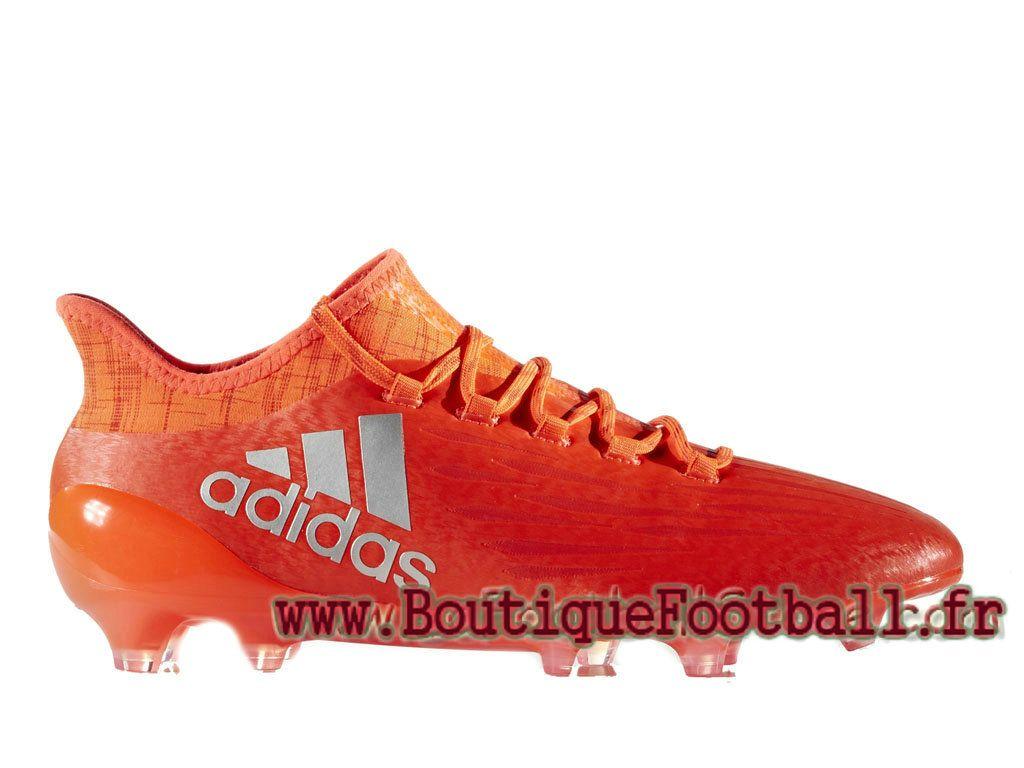 Adidas Homme Football Chaussues X 16.1 Terrain souple Solar