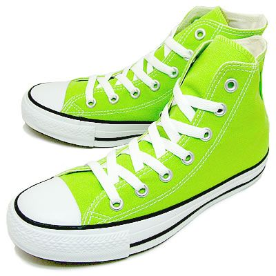 6316640c5d8 lime green converse