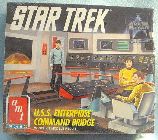 Star Trek U.S.S. Enterprise Command Bridge Model Kit (AMT, 1980s)
