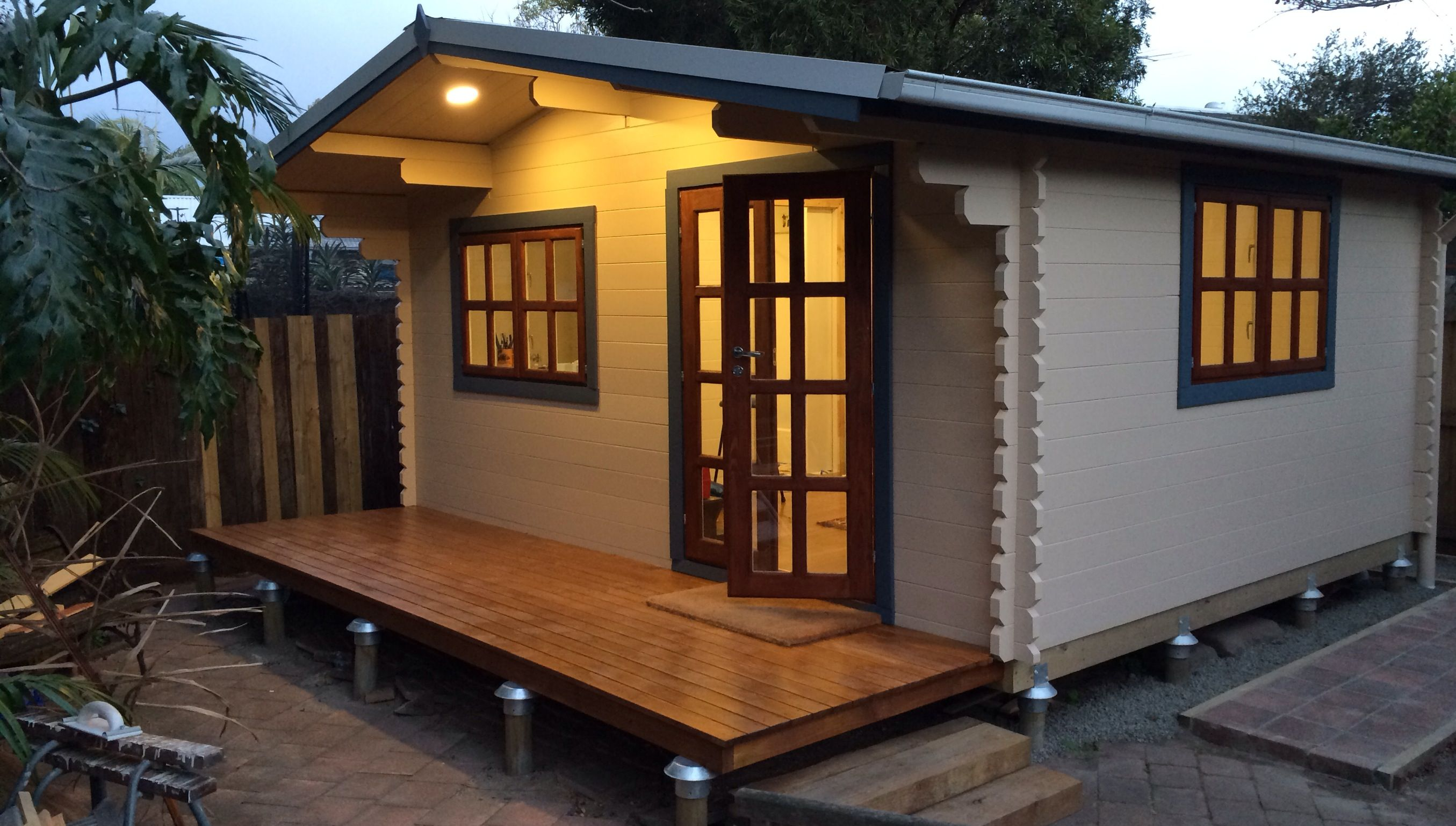 Log Cabins Australia Backyard Cabins Backyard Cabin