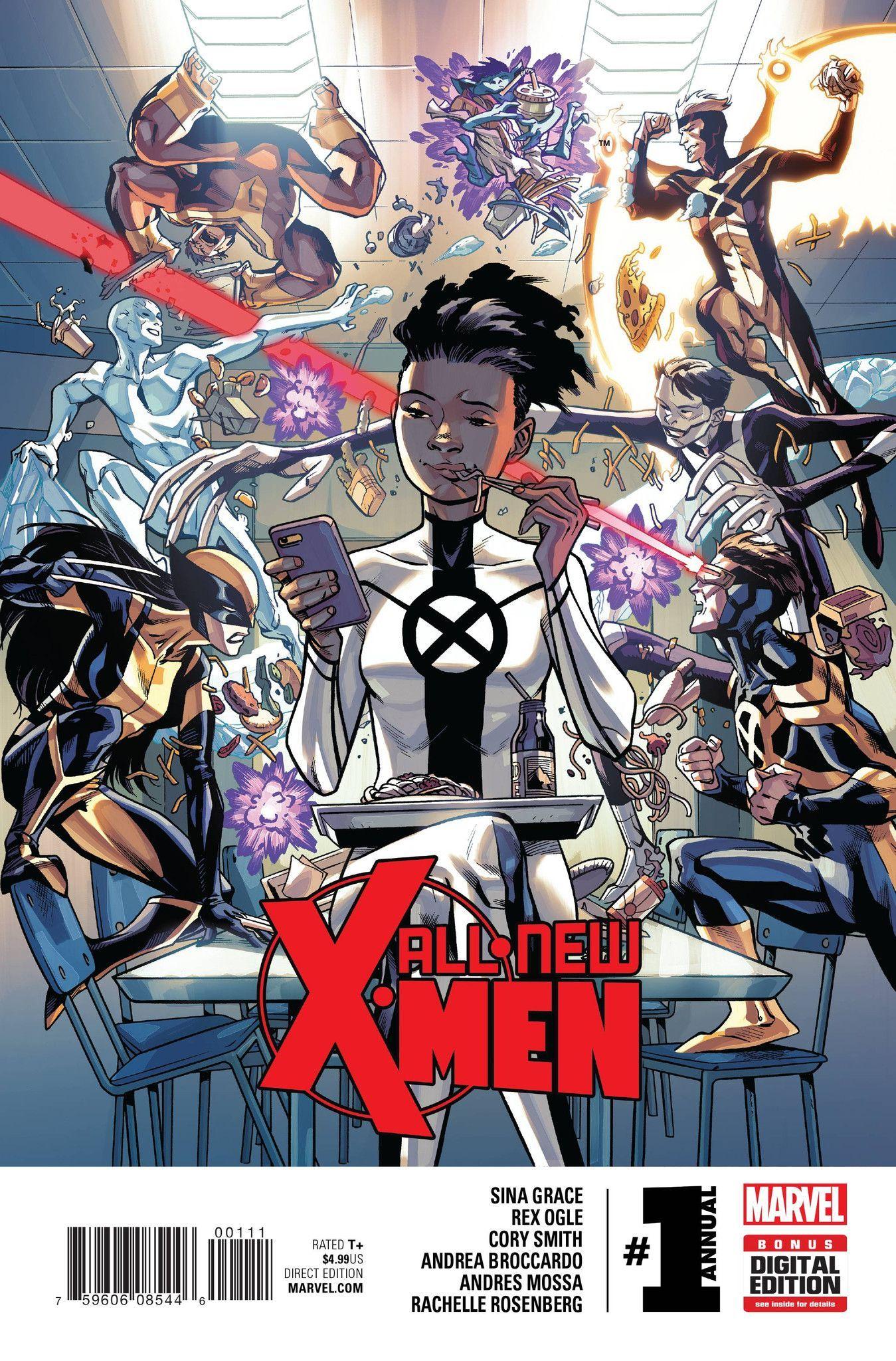 All New X Men Annual 1 2016 X Men Marvel Marvel Xmen