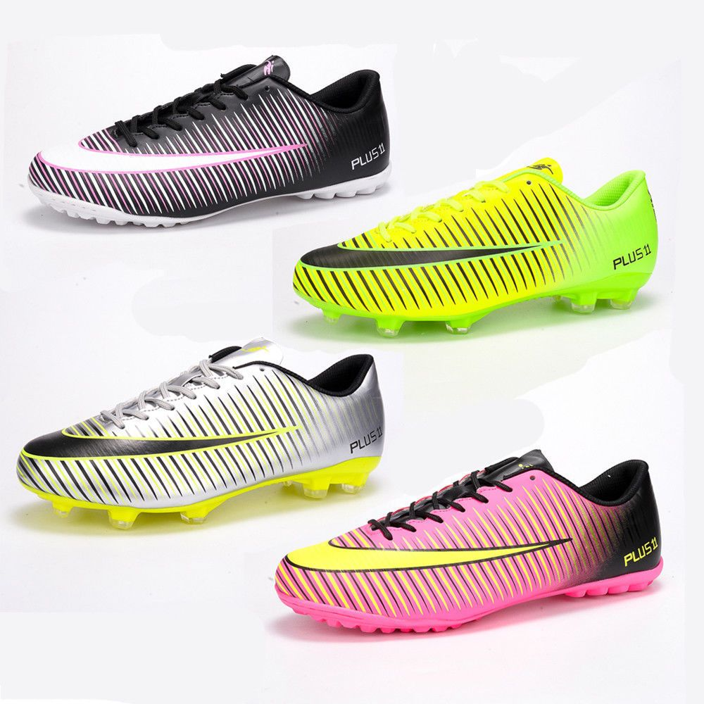 fef9a2396 Men Shoes   Cleats Men Boys Soccer Cleats Shoes Indoor Turf Football  Trainers Sports Sneakers Adult