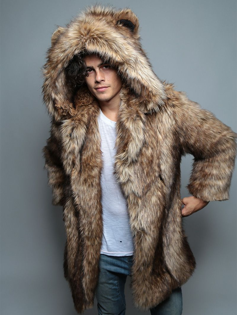 7d2281af8 Grizzly Faux Fur Coat | BM 2017 | Fur coat, Coat, Fur