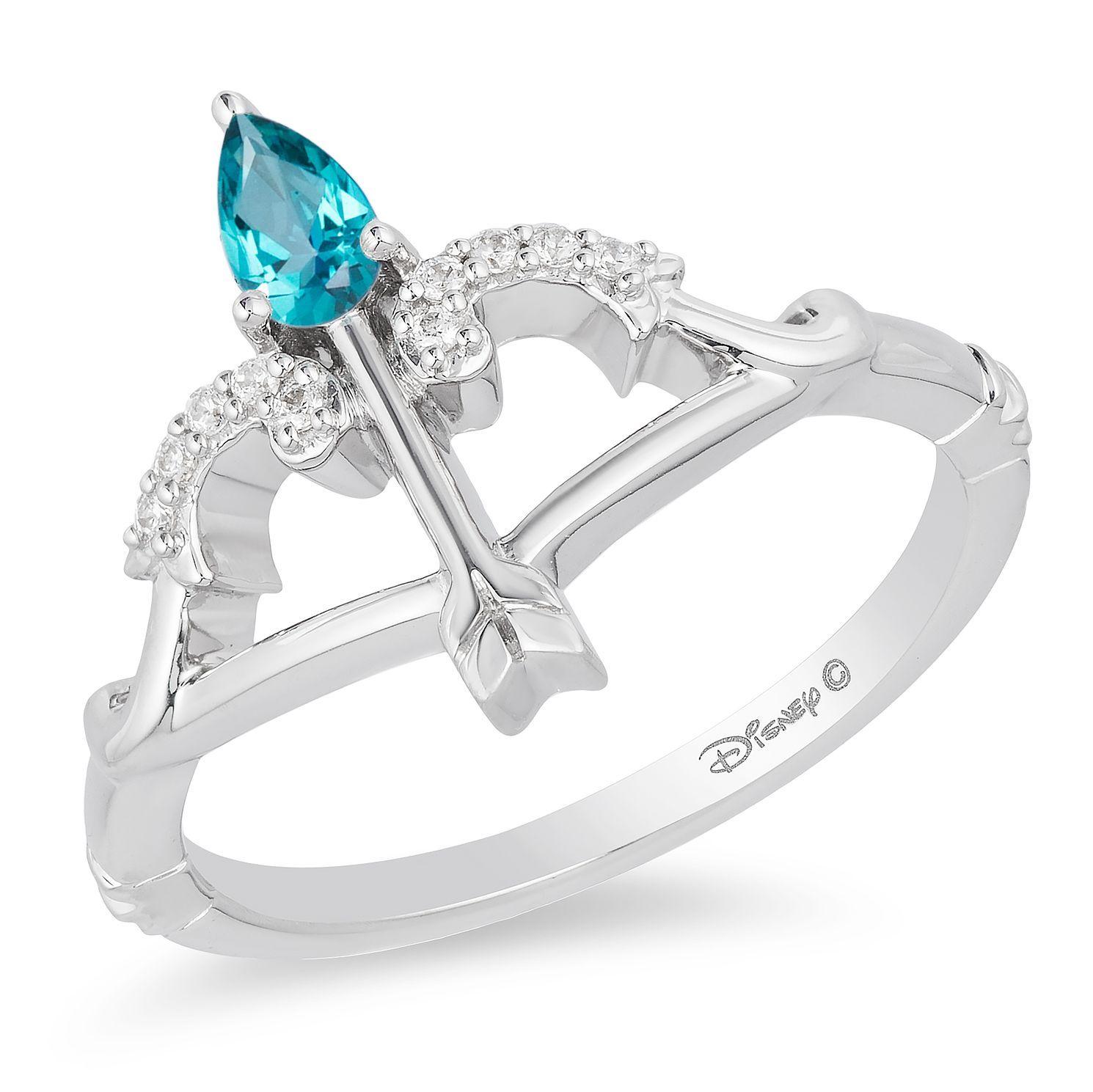 Enchanted Disney Fine Jewelry Diamond Merida Arrow Ring