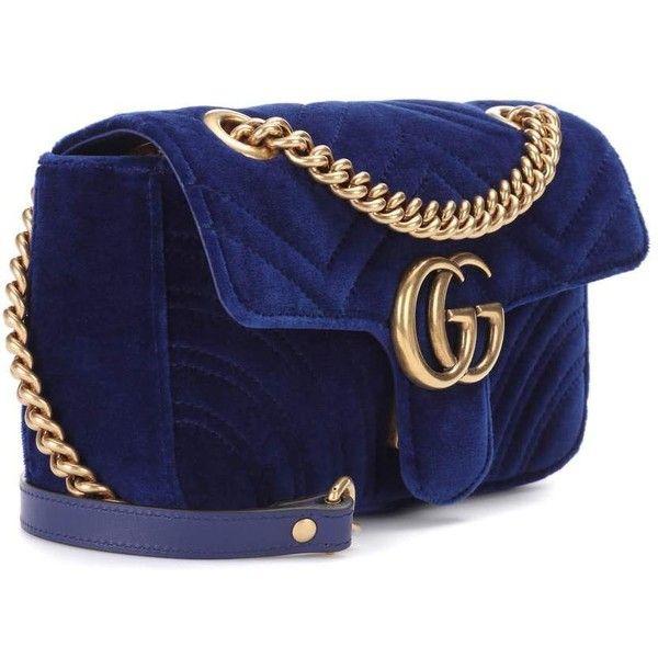 1f8402dcab9 Gucci GG Marmont Mini velvet shoulder bag ( 1