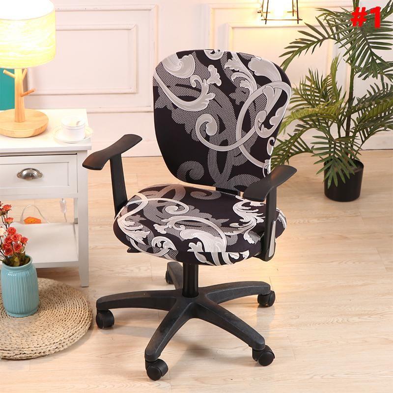 Decorative Computer Office Chair Cover cloverlucky