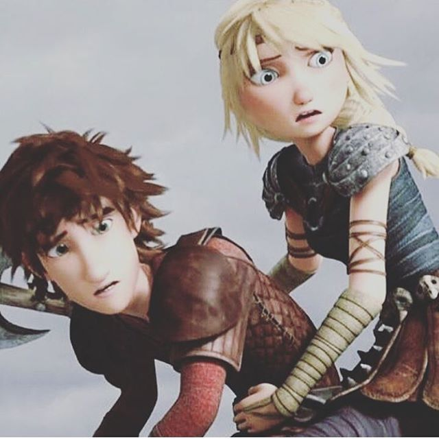 Look At These Two Dorks I Ship Them So Hard P  Httyd -2079