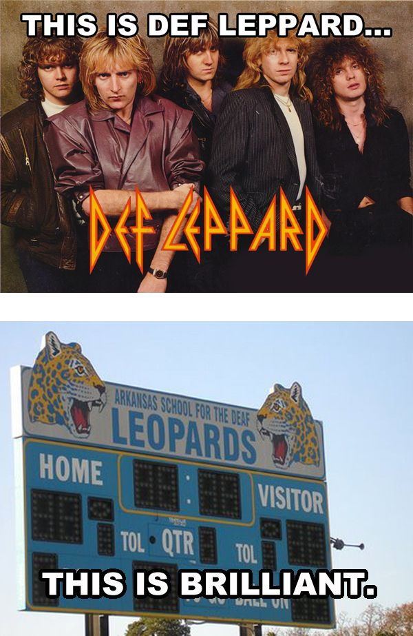 Funny Meme This Is Def Leppard Def Leppard Quotes Def Leppard