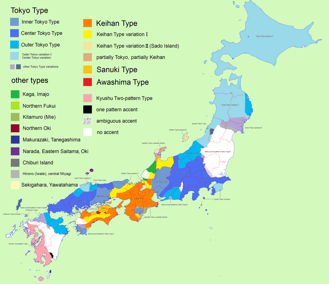 Japanese accents and pitches maps pinterest pitch japanese accents and pitches gumiabroncs Image collections