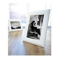 IKEA - VIRSERUM, Cornice, 10x15 cm, , Il passe-partout permette di incorniciare più facilmente l'immagine e la valorizza.Passe-partout al PH neutro: non rischia di scolorire il soggetto.Si può appendere o appoggiare orizzontalmente o verticalmente, per adattarsi allo spazio che hai a disposizione.