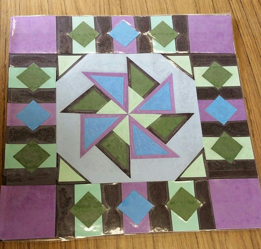 Beautiful Homeinterior Design: Symmetry And Paper Quilting